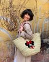 Minnie Hasır Çanta