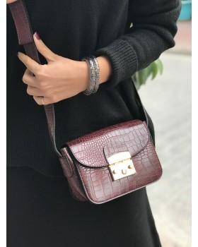 Mini Bordo Çanta