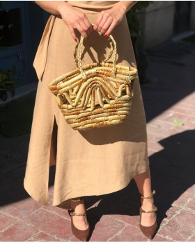 Wind Hasır Çanta