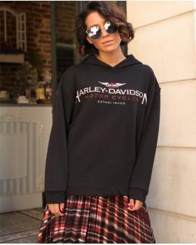 Harley Davidson Siyah Sweat