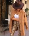 Tarçın Oversize Kot Ceket