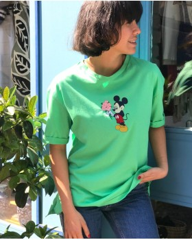Mickey Neon Tişört