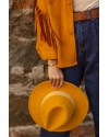Sarı Panama Şapka