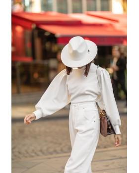 Beyaz Panama Şapka