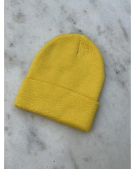 Sarı Katlamalı Bere