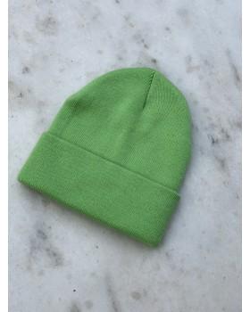 Yeşil Katlamalı Bere
