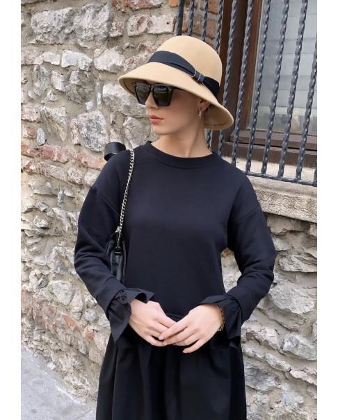 Krem Bucket Şapka