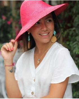 Kırmızı Hasır Şapka