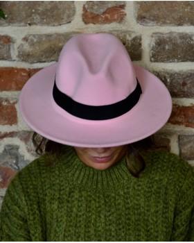 Pembe Fötr Şapka